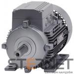 Silnik trójfaz. Siemens: 0,09kW, 850obr/min, 230/400V (Δ/Y), Łapowy (IMB3), Kl. izol. F, IP55, Wlk. mech: 63M