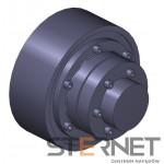 Sprzęgło N-EUPEX, rozmiar: 225, typ: P, TKN 2000Nm