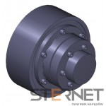 Sprzęgło N-EUPEX, rozmiar: 250, typ: P, TKN 2800Nm