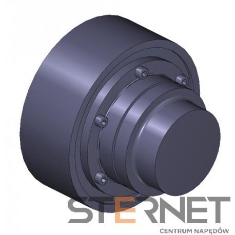 Sprzęgło N-EUPEX, rozmiar: 250, typ: O, TKN 2800Nm