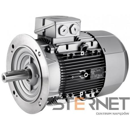 Silnik trójfaz. Siemens 4kW,obroty 1000obr/min 400/690V (Δ/Y), 50Hz, Wiel. mech. 132M, Wykon. mech. kołnierzowy (IMB5/IM3001), IP55, klasa izolacji F, IE1, Opcje spec.: Praca silnika w temp. do 55°C