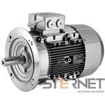 Silnik trójfaz. Siemens 5,5kW,obroty 1000obr/min 400/690V (Δ/Y), 50Hz, Wiel. mech. 132M, Wykon. mech. kołnierzowy (IMB5/IM3001), IP55, klasa izolacji F, IE1, Opcje spec.: Praca silnika w temp. do 55°C