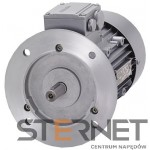 Silnik trójfaz. Siemens: 0,55kW, 2800obr/min, 230/400V (Δ/Y), Kołnierzowy (IMB5), Kl. izol. F, IP55, Wlk. mech: 71M