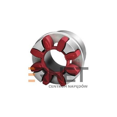 Wkładka N-BIPEX Rozmiar:38 Typ:pierścień kształtowy CZERWONY 92 ShoreA [Odpowiednik:Wkładka typu ROTEX 38 POMARAŃCZOWA 92 ShoreA]