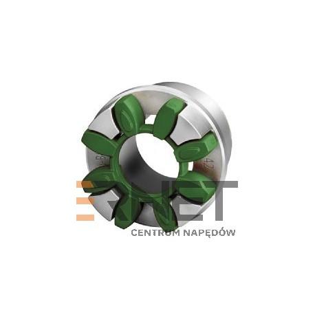 Wkładka N-BIPEX Rozmiar:19 Typ:pierścień kształtowy ZIELONY 95 ShoreA [Odpowiednik:Wkładka typu ROTEX 19 FIOLETOWA 98 ShoreA]