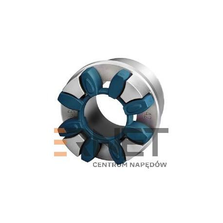Wkładka N-BIPEX Rozmiar:19 Typ:pierścień kształtowy NIEBIESKI 64 ShoreD [Odpowiednik:Wkładka typu ROTEX 19 ZIELONA 64 ShoreD]