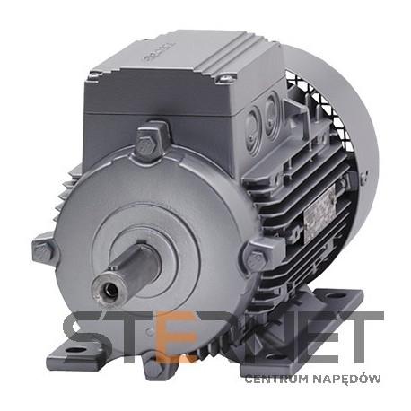 Silnik trójfazowy produkcji Siemens - Moc: 0,75 kW - Prędkość: 2855 obr/min - Napięcie: 230/400V (Δ/Y), 50Hz - Wykonanie: łapowy (IMB3) - Klasa izolacji F, IP55, EFF2 (IE1) - Wielkość mechaniczna: 80M Opcje dodatkowe: - Motor acc IE1 for Duty type S3 60%