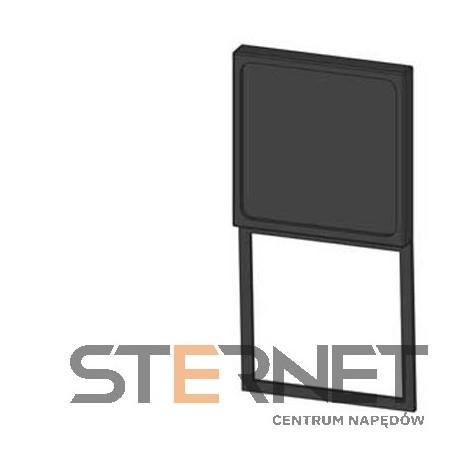 NOŚNIK ETYKIET, WYKONANIE KWADRATOWE, DLA 3SB3, 27MM X 27MM