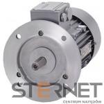 Silnik trójfaz. Siemens: 0,12kW, 1350obr/min, 230/400V (Δ/Y), Kołnierzowy (IMB5), Kl. izol. F, IP55, Wlk. mech: 63M