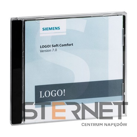 LOGO! SOFT COMFORT V7, UPGRADE F. LSC FROM V7 SINGLE LICENSE, 1 INSTALLATION E-SW, SW AND DOCU ON DVD 6-LANGUAGES, EXECUTABLE ON WIN98SE/ NT4.0/ME/2000/XP/VISTA/WIN7, MAC OS, SUSE LINUX, REFERENCE-HARDWARE:LOGO!