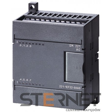 SIMATIC S7-200, moduł wejść cyfrowych EM 221, 8 wejść, 120/230V AC, tylko CPU serii S7-22X