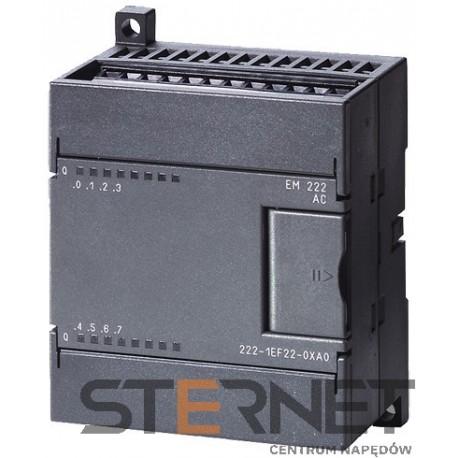 SIMATIC S7-200, moduł wyjść cyfrowych EM 222, 8 wyjść/120/230V AC, 0.5A, tylko CPU serii S7-22X