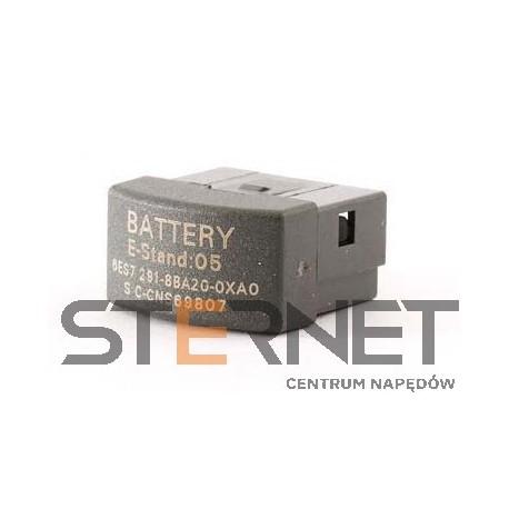 SIMATIC S7-200, moduł baterii do podtrzymania danych instalowany w slocie modułu pamięci CPU w wersji S7-22X