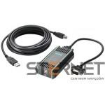 SIMATIC S7, PC Adapter USB, do podłączenia sterownika SIMATIC S7-200/S7-300/S7-400/C7 z portem USB komputera PC, w zestawie: kabel USB o długości 5 metrów, zgodny z Windows 2000/XP