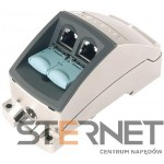 INDUSTRIAL ETHERNET FASTCONNECT RJ45 MODULAR OUTLET,BASE MODULE WITH 2FE INSERT, REPL. INSERT FOR 2 X 100 MBIT/S INTERFACE