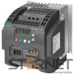 SINAMICS V20 1AC200-240V -10/+10% 47-63HZ RATED POWER 1,1KW WITH 150% OVERLOAD FOR 60SEC UNFILTERED I/O-INTERFACE: 4DI, 2DO,2AI,1AO FIELDBUS: USS/ MODBUS RTU WITH INBUILT BOP PROTECTION: IP20/ UL OPEN TYPE SIZE:FSB 140X160X165(HXWXD)