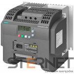 SINAMICS V20 1AC200-240V -10/+10% 47-63HZ RATED POWER 3,0KW WITH 150% OVERLOAD FOR 60SEC INTEGRATED FILTER C2 I/O-INTERFACE: 4DI, 2DO,2AI,1AO FIELDBUS: USS/ MODBUS RTU WITH INBUILT BOP PROTECTION: IP20/ UL OPEN TYPE SIZE:FSC 184X182X169(HXWXD)