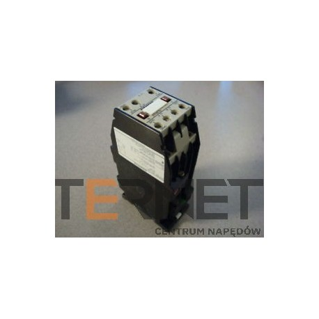 STYCZNIK - CONTACTOR, 3-POLE AC-3, 4KW/400V,SCREW CONNECTION AUXILIARY CONTACTS 11E(1NO+1NC)