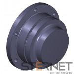 Sprzęgło N-EUPEX, rozmiar: 125, typ: E, TKN 240Nm