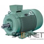 Silnik trójfaz. Siemens IE2 : 18,5kW,obroty 1500, 3 AC 50HZ 400VΔ/690VY, Wykonanie IM B3, Kl. izol. F, IP55, Wlk. mech:180 M, Żeliwny