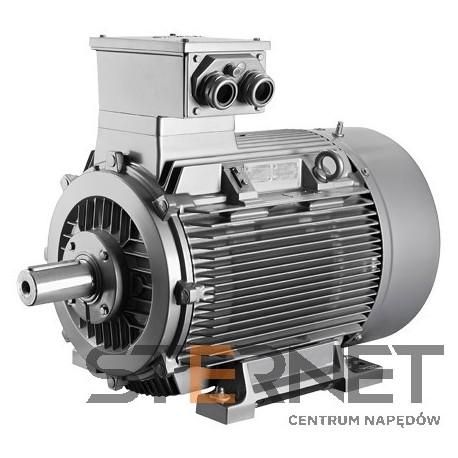 LOW-VOLTG. MOTOR, CL, IP55 EXPLOSION-PROOF ENCLOSURE 4-POLE, THERM.CL. 155(F) 15 KW AT 50HZ * SIZE 160 L, IE1 EX DE IIC T4 GB 3AC 50HZ 230VD/400VY 220-240VΔ/380-420VY, 50HZ IMB35 * FLANGE: FF300 (A 350)