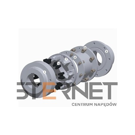 PART 6 FOR N-EUPEX COUPLING SIZE 95