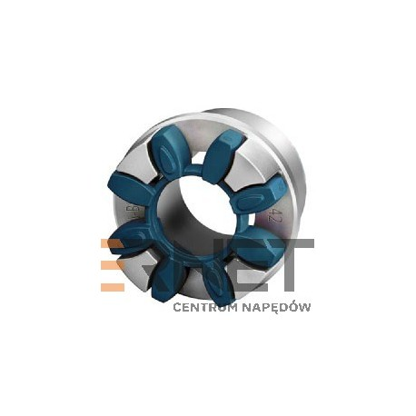 Wkładka N-BIPEX Rozmiar:75 Typ:pierścień kształtowy NIEBIESKI 64 ShoreD [Odpowiednik:Wkładka typu ROTEX 75 ZIELONA 64 ShoreD]
