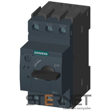 CIRCUIT-BREAKER SZ S0, FOR MOTOR PROTECTION, CLASS 10, A-REL. 0.45...0.63A, N-REL.8.2A SCREW CONNECTION, STANDARD SW. CAPACITY