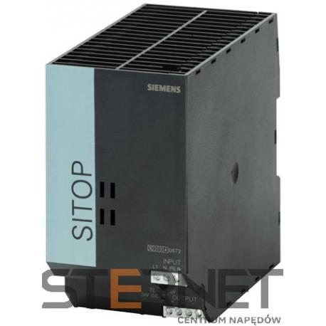SITOP SMART 240 W, uniwersalny zasilacz stabilizowany, napięcie wejścia: 120/230V AC, napięcie wyjścia: 24V DC/10A