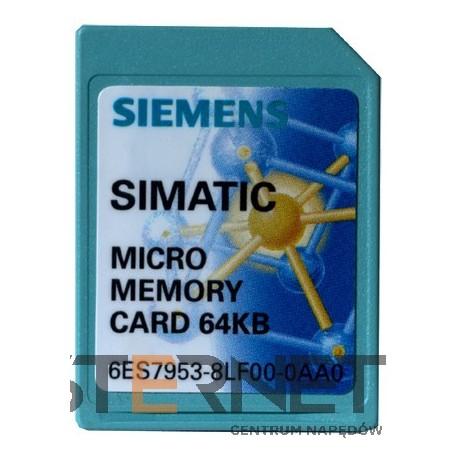 SIMATIC S7, KARTA PAMIĘCI FLASH DLA STEROWNIKÓW S7-1200, 3.3V, 2 MB