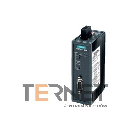 SIMATIC NET,PB OLM/G11-1300V3.1 OPTICAL LINK MODULE W. 1 RS485 AND 1 GLASS FO INTERFACE (2 BFOC SOCKETS) 1300NM WAVE LENGTH FOR LONG DISTANCES WITH SIGNAL. CONTACT AND MEASURING OUTPUT  | ECCN:EAR99H | AL:N |