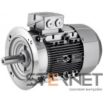 Silnik trójfazowy prod. Siemens, Moc: 4kW, Prędkość: 1500obr/min, Napięcie: 400/690V (Δ/Y), 50Hz, Wielkość: 112M, Wykonanie mechaniczne: kołnierzowy (IMB5/IM3001), Klasa izolacji F, IP55, Klasa sprawności IE3Opcje specjalne:, 3 czujniki PTC w uzwojeniu