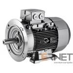 Silnik trójfazowy produkcji Siemens , Moc: 0,18 kW , Prędkość: 675 obr/min , Napięcie: 230/400V (∆/Y), 50Hz, Wykonanie: łapowo-kołnierzowy (IMB35) , Klasa izolacji F, IP55, EFF2 (IE1), Wielkość mechaniczna: 80M