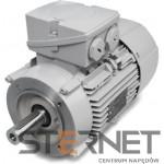 Silnik trójfazowy produkcji Siemens , Moc: 0,55 kW , Prędkość: 675 obr/min , Napięcie: 230/400V (∆/Y), 50Hz, Wykonanie: kołnierzowy (IMB14) , Klasa izolacji F, IP55, EFF2 (IE1), Wielkość mechaniczna: 90L