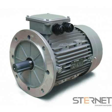 SILNIK ELEKTRYCZNY 3-fazowy, marki STARK, Moc 5,5kW, 2900obr/min, 400VD/690VY, wykonanie B5, Wielkość mech. 132, Sprawność IE2