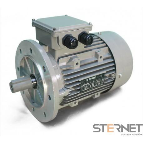 SILNIK ELEKTRYCZNY 3-fazowy, marki STARK, Moc 1,5kW, 2900obr/min, 230VD/400VY, wykonanie B5, Wielkość mech. 90, Sprawność IE3